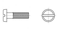 https://dinmark.com.ua/images/DIN 85 Винт с полукруглой головкой и прямым шлицем