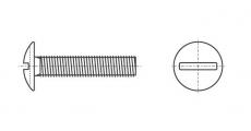 https://dinmark.com.ua/images/NFE 27-128 Гвинт з напівкруглою головкою і прямим шліцом - Інтернет-магазин Dinmark