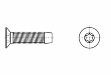 DIN 7500 M A2 Винт с потайной головкой самонарезающий под torx