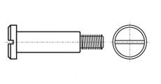 https://dinmark.com.ua/images/DIN 923 Винт ступенчатый установочный с цилиндрической головкой и прямым шлицем