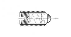 https://dinmark.com.ua/images/AN 420 Гвинт установочний з прямим шліцом і кулькою