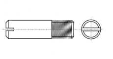 https://dinmark.com.ua/images/DIN 427 Гвинт установочний з прямим шліцом