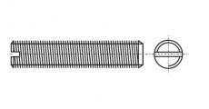 https://dinmark.com.ua/images/DIN 551 Гвинт установочний з прямим шліцом і плоским кінцем