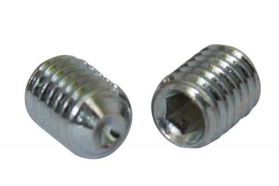 DIN 916 Гвинт установочний з внутрішнім конусом сталевий
