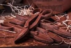 Шоколадні ножиці по металу