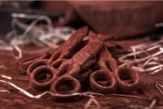 Шоколадні ножиці маленькі