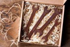 Шоколадний набір: ключ накидний, ключ 12/13, ключ 14/15, ключ 16/17