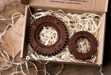 Шоколадний набір: шестерня велика, шестерня маленька